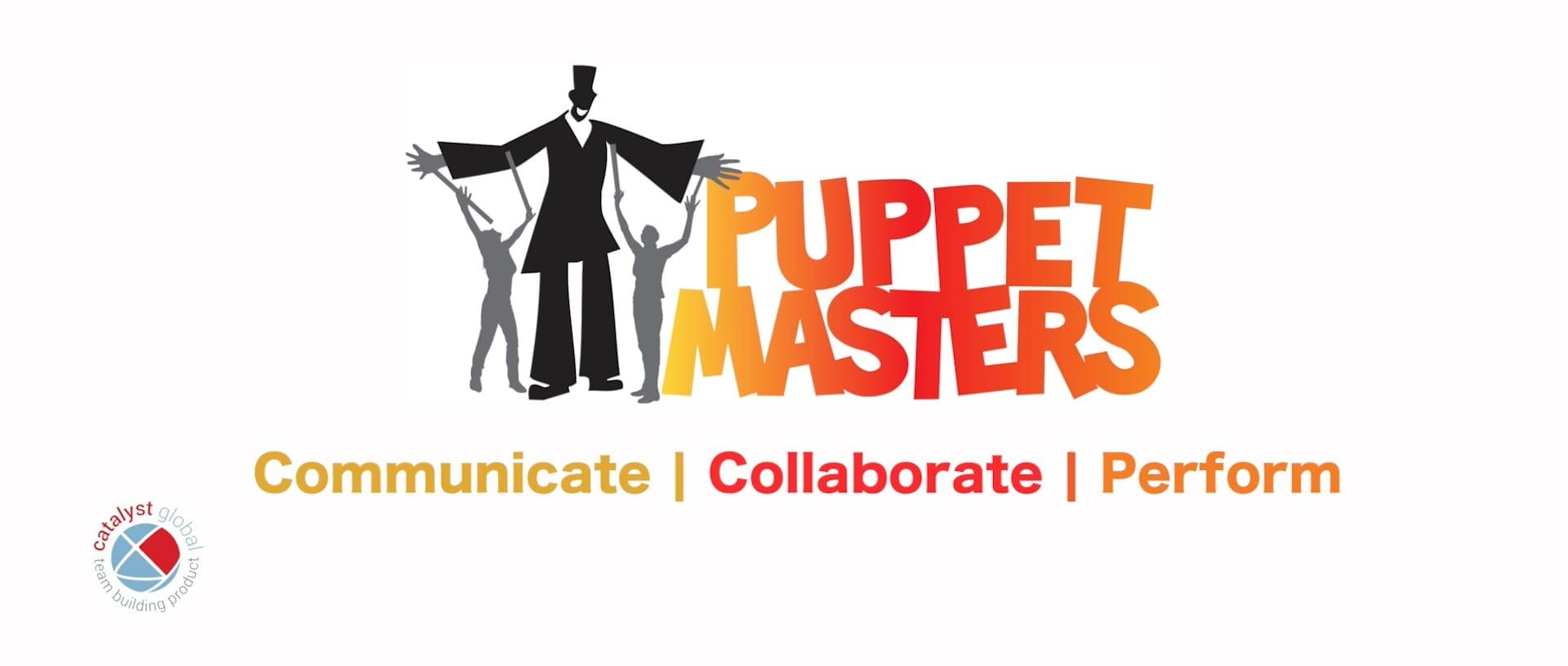 Puppet Masters teambuilding logo